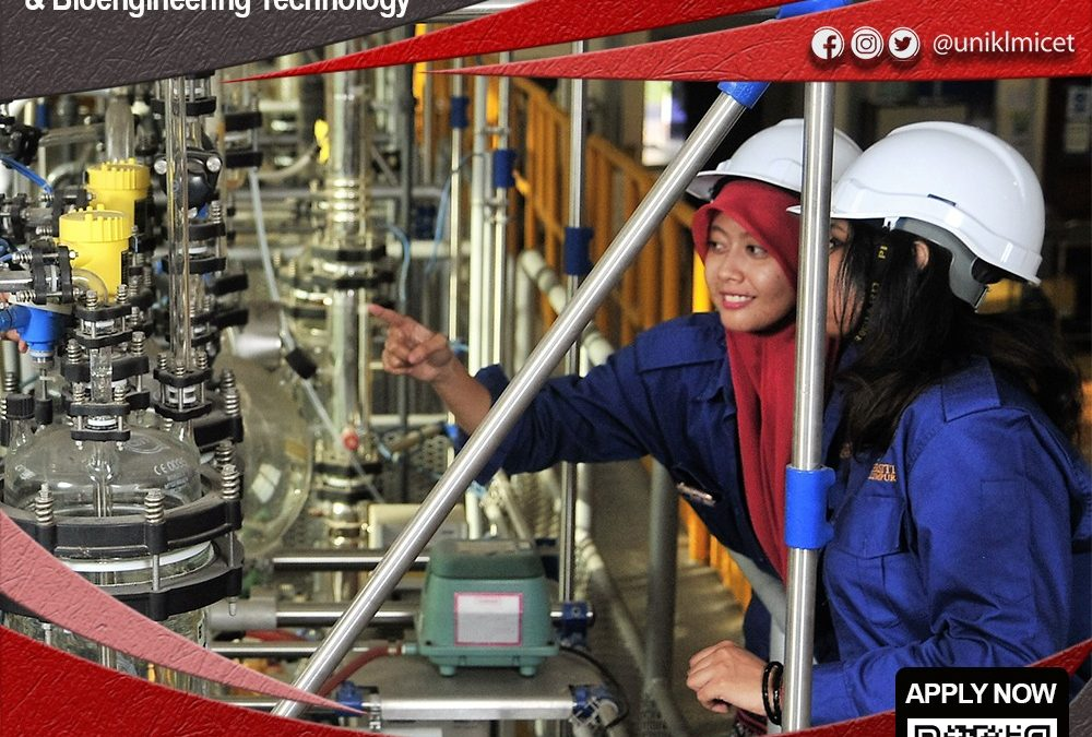 Diploma & Bachelor in Chemical Engineering Technology (Process)