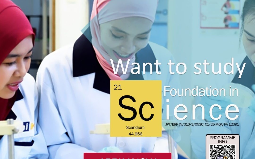 Foundation in Science Apply Now