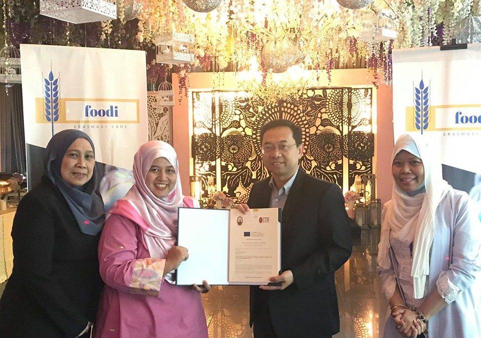 "FOODI Erasmus Programme ""Food processing and Innovation-FOODI"" in the making"