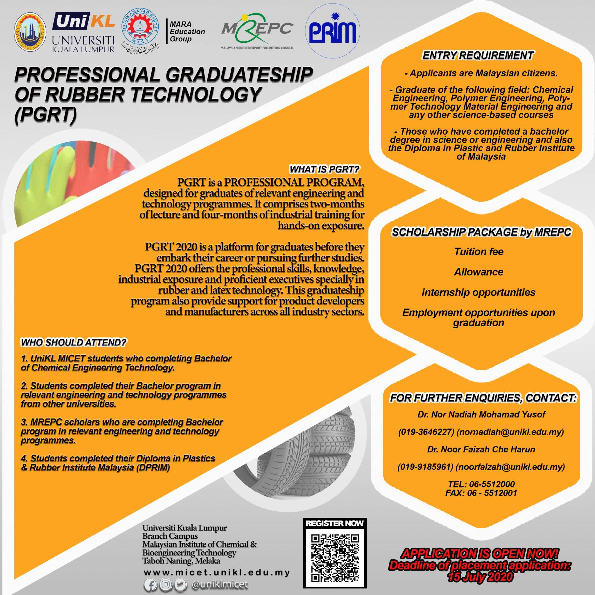 pgrt program detail