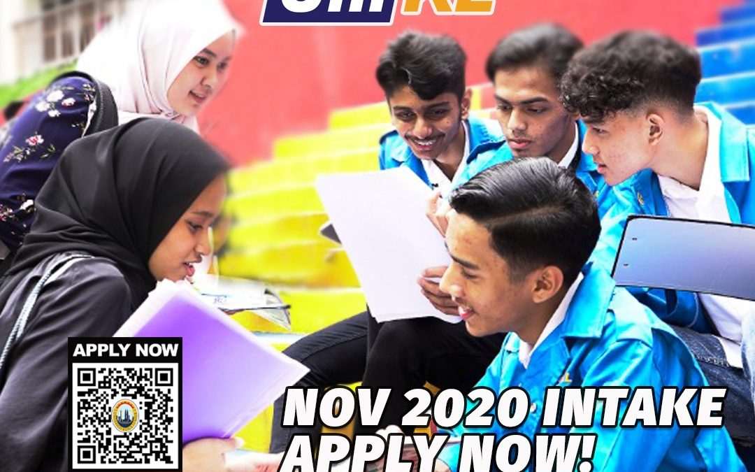 Apply Now! November intake: Foundation in Science is open for applications.